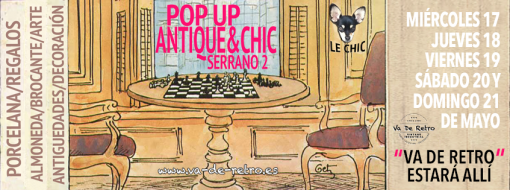 Próxima visita: Pop Up Antique & Chic